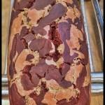 Banana bread marbré – Cake panthère #vegan