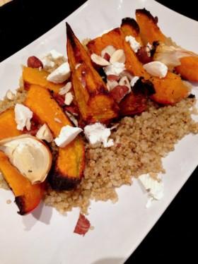 Potimarron quinoa