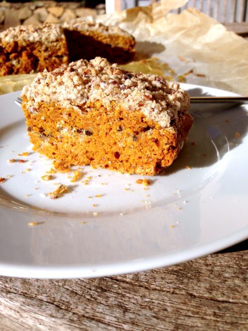 Coffee cake au potimarron et aux noix de p can vegan for Ambiance cuisine avoine