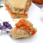 Gâteau moelleux aux fruits et à la crème pâtissière #vegan