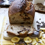 Banana bread au tofu soyeux sans MG #vegan