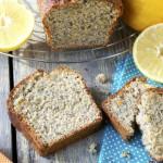 Cake bergamote – pavot #vegan