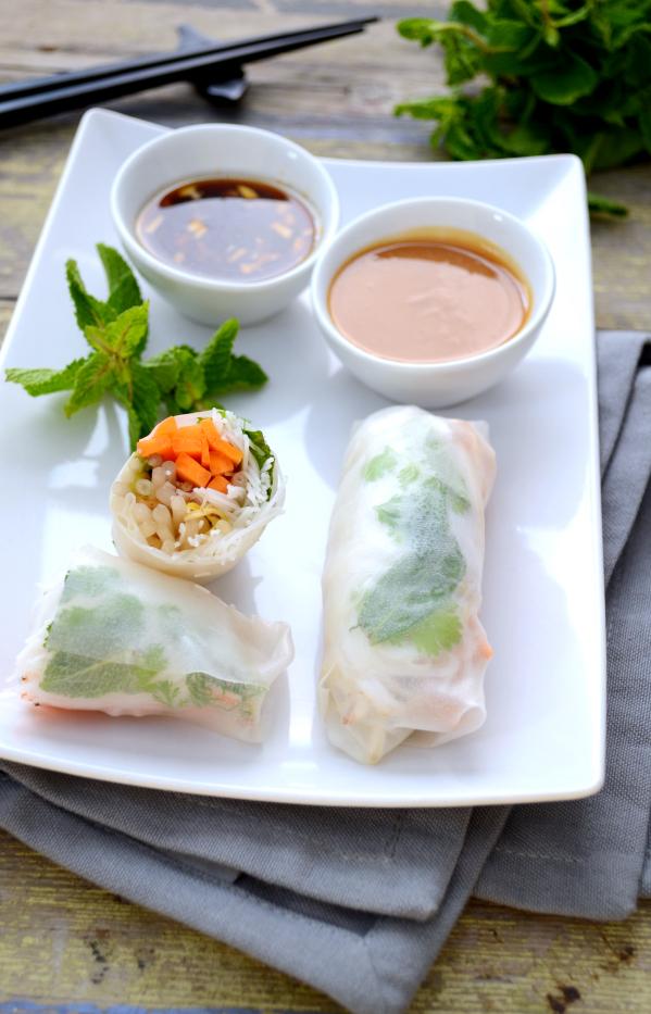 Rouleaux de printemps vegan sansgluten green cuisine for Ambiance cuisine avoine