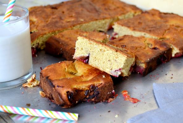 chickpea cake gâteau au pois chiche vegan sans gluten