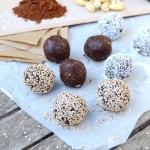 Energy balls – 3 ingrédients – sans cuisson #vegan #sansgluten #cru