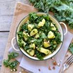 Salade de kale et pommes de terre #vegan #sansgluten