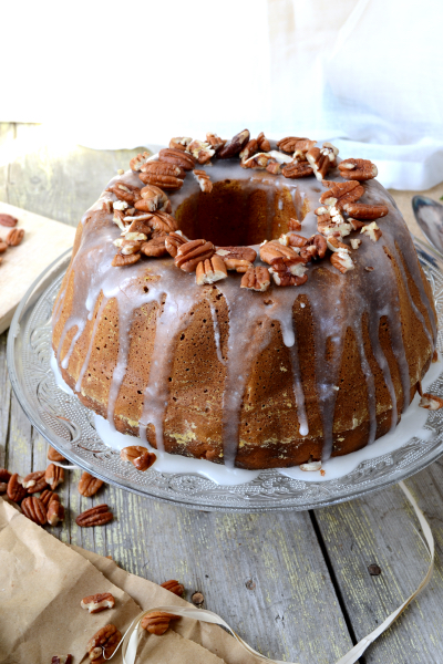 Bundt cake au potimarron vegan