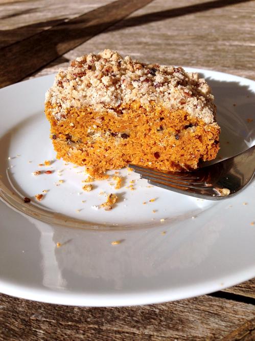 Coffe cake potimarron pécan