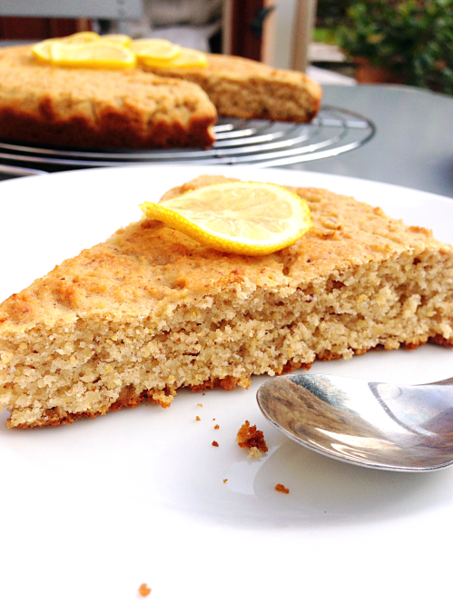 gâteau-biscuit citron-miel-noisette | green cuisine