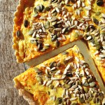 Quiche carottes coco cumin curry #vegan
