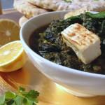 Palak (Tofu) Paneer & Naans #vegan