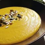Velouté butternut pois cassés curry coco #vegan