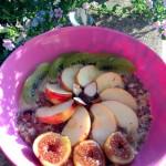 Mon porridge préféré (sans cuisson) #cru #raw #vegan