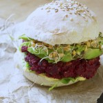 Betterave burger #vegan