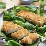 Nuggets croustillants de Tofu Katsu et leur sauce #vegan