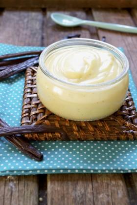 Petits pots de crème à la vanille vegan sans gluten