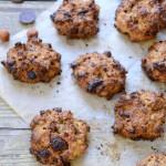 Healthy cookies choco-noisettes : les cookies sains #vegan