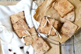 Biscuits rustiques sans sucre ajouté vegan